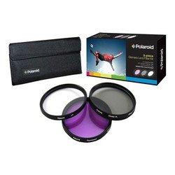 Набор фильтров для объектива с диаметром резьбы 52мм (Polaroid UV+CPL+FLD PL3FIL52)
