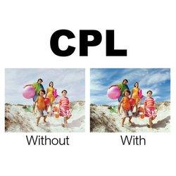 ����� �������� ��� ��������� � ��������� ������ 52�� (Polaroid UV+CPL+FLD+WARMING PL4FIL52)