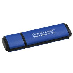 Kingston DataTraveler Vault Privacy 3.0 32GB (DTVP30/32GB) (синий)