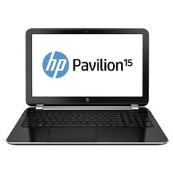 "ноутбук hp pavilion 15-n260sr 15.6"" (1366x768/intel i5-4200u(1.6)/4/500 gb/gma hd/dvd-rw/wifi/bt/cam/win8.1) (f7s37ea) (серебристый)"