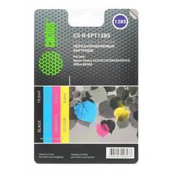 Комплект перезаправляемых картриджей для Epson Stylus S22, SX125, SX420, SX425 (CACTUS CS-R-EPT1285)