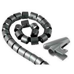 Кабель-органайзер (Hama H-20583 Easy cover) (2 м, серый)