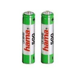 Аккумуляторная батарея AAA (Hama H-46565) (500 мАч, 2 шт)