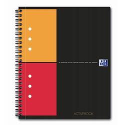 Тетрадь A5+ 80 л клетка (Oxford International ActiveBook) (100102880)