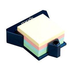 Куб Hopax 21271 пастельный 4цвета в пластиковой подставке 76*76 400л