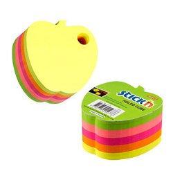 Куб Hopax 21277 Яблоко 5цветов 76*76мм с отверстием для ручки 400л
