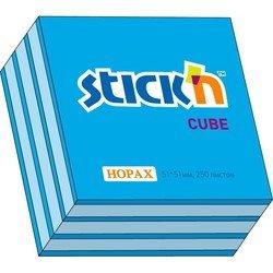 Cамоклеящийся блок Hopax 51*51 250л 2 цвета ( неон+пастель)