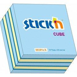 Cамоклеящийся блок Hopax 76*76 400л 3 цвета (неон+пастель)