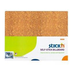 Доска Hopax 23023 коричневый для объявлений самоклеящаяся 58*46см
