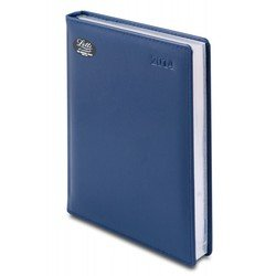 Ежедневник A5 датированный (Letts GLOBAL DELUXE) (412 127220) (синий)