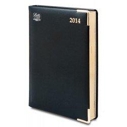 Ежедневник A5 датированный (Letts LEXICON) (412 128210) (черный)