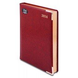 Ежедневник A5 датированный (Letts LEXICON) (412 128243) (бургунди)