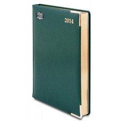 Ежедневник A5 датированный (Letts LEXICON) (412 128250) (зеленый)
