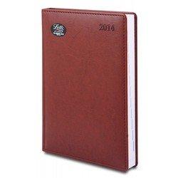Ежедневник A5 датированный (Letts UMBRIA) (412 141180) (коричневый)