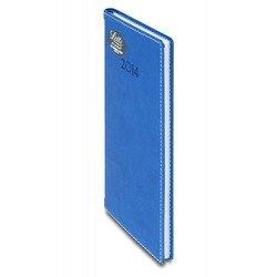 Еженедельник A6 (Letts SAVILE) (412 145220) (синий)