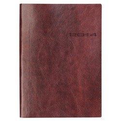 Ежедневник A5 (Letts LECASSA) (412 160080) (коричневый)