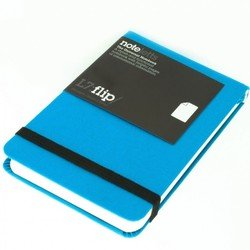 Блокнот 112x80 мм 96 л (Letts UNIVERSAL) (415 117021) (голубой)