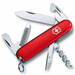 Нож перочинный Victorinox Sportsman 0.3803 84мм 13 функций красный