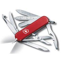 Нож перочинный Victorinox Midnite MiniChamp 0.6386 58мм 16 функций красный