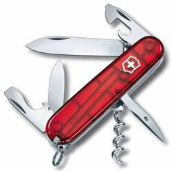 Нож перочинный Victorinox Spartan 1.3603.T 91мм 12 функций полупрозрачный красный
