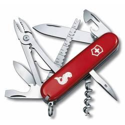 Нож перочинный Victorinox Angler 1.3653.72 91мм 18 функций красный с логотипом \\\\\