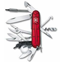 Нож перочинный Victorinox CyberTool Lite 1.7925.T 91мм 36 функций полупрозрачный красный