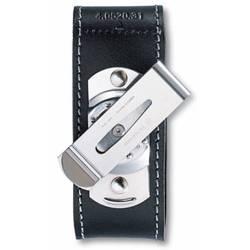 Чехол Victorinox 4.0520.31 кожаный с застежкой Velkro для ножей 91мм 2-4 уровня черный