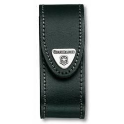 Чехол Victorinox 4.0520.3B1 кожаный с застежкой Velkro для ножей 91мм 2-4 уровня  черный