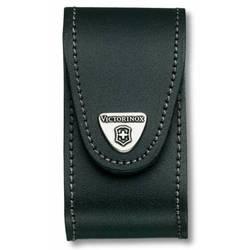 Чехол Victorinox 4.0521.3B1 кожаный с застежкой Velkro для ножей 91мм 5-8 уровней  черный