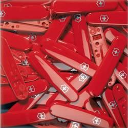 Накладка Victorinox C.3600.3 передняя для ножей 91мм с щитом и крестом красный