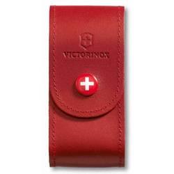 Чехол Victorinox 4.0521.1 кожаный для ножей 91мм 5-8 уровней красный