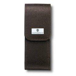 Чехол Victorinox 4.0482 кожаный для ножей 111мм толщиной 3 уровня и SwissTool Spirit коричневый
