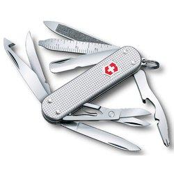 Нож перочинный Victorinox MiniChamp 0.6381.26 58мм алюминиевая рукоять серебристый