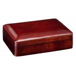 Шкатулка Visconti 986CU0009 коричневый натур кожа массив 13,5x9,5x4см (VS-986CU0009)