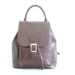 Рюкзак Cristina Rui 30x20x30см 1 отдел внут карман коричнев нат кожа (8821)
