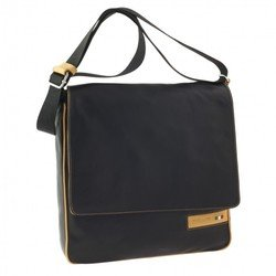 Сумка-планшет Tuscans 31x32x6см черный натур кожа отд желтая с отд для Ipad (TS-20000-092)