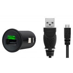 Автомобильное зарядное устройство USB - microUSB (Belkin F8M304CW03) (черный)