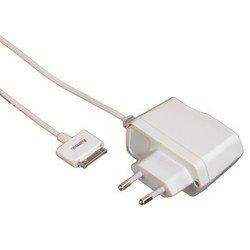 Сетевое зарядное устройство для Apple 30-pin (Hama H-115098 Travel) (белый)