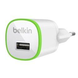 Автомобильное зарядное устройство USB (Belkin F8J042cwWHT) (белый)