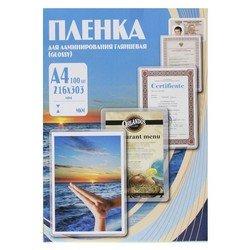 Пленка для ламинирования 100 мик, А4, 216х303 мм (Office Kit PLP10623) (100 шт.)