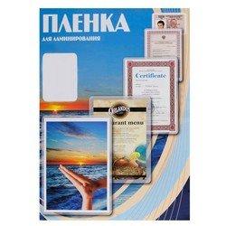 Пленка для ламинирования 100 мик, 65х95 мм (Office Kit PLP10605) (100 шт.)