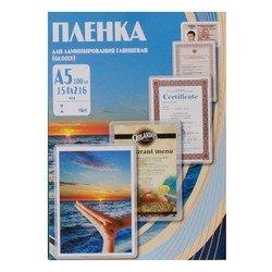 Пленка для ламинирования 125 мик, А5, 154х216 мм (Office Kit PLP10920) (100 шт.)