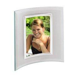 Фоторамка Hama Alisea 10x15см silver полукруглая форма стекло (H-100970)