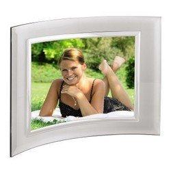 Фоторамка Hama Alisea 10x15см silver полукруглая форма стекло (H-100972)