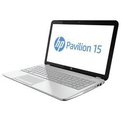 hp pavilion 15-n061sr e7g16ea (core i7 4500u 1800 mhz/15.6/1366x768/6144mb/750gb/dvd-rw/wi-fi/bluetooth/win 8 64) (серебристый)