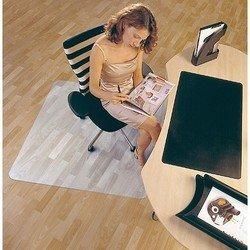 Коврик напольный Floortex 1212119ER для паркета/ламината квадратный 120х120 см поликарб.