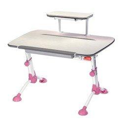 Стол детский Бюрократ Conductor-03/Milk&P молочный розовый