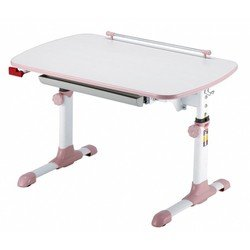 Стол детский Бюрократ Conductor-06/Milk&P молочный розовый