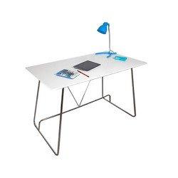 Стол для компьютера Бюрократ DL-HG001/White белый