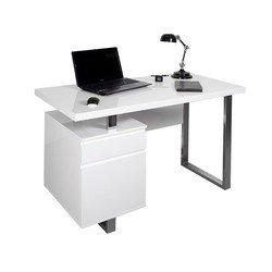 Стол для компьютера Бюрократ DL-HG003/White белый